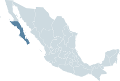Baja California Sur Map